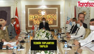 TEDBİR TOPLANTISI YAPILDI