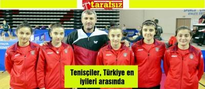 Tenisçiler, Türkiye en iyileri arasında