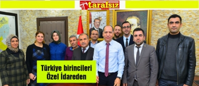 Türkiye birincileri Özel İdareden