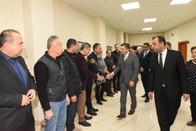 Vali Şahin, Kültür'ü ziyaret etti