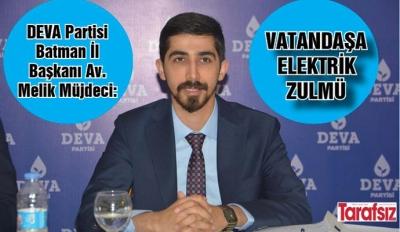 ''VATANDAŞA ELEKTRİK ZULMÜ''