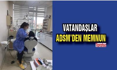 VATANDAŞLAR ADSM'DEN MEMNUN