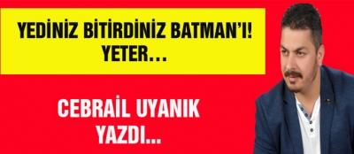 YEDİNİZ BİTİRDİNİZ BATMAN'I! YETER…