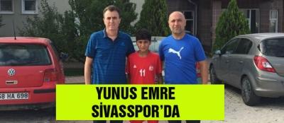 YUNUS EMRE SİVASSPOR'DA