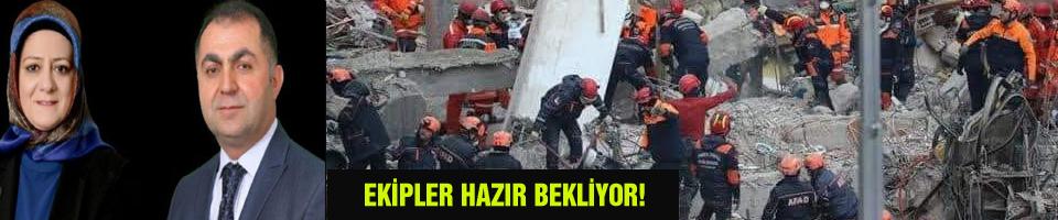EKİPLER HAZIR BEKLİYOR!